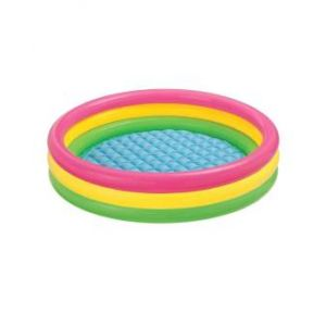Inflatable Baby Swimming Pool  - Multicolor