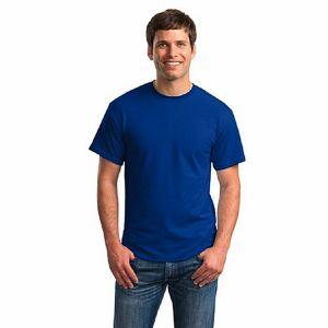 Blue pk casual short sleeve t shirt for men