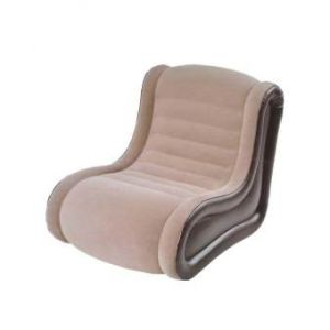 Inflatable Air Deluxe Side Chair  Sofa - Brown