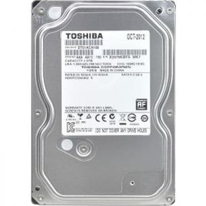 Toshiba 1TB Desktop Hard Disk - Black