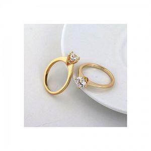 Golden-copper-finger-ring-for-women
