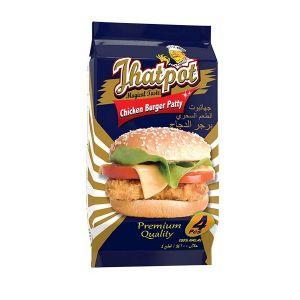 Jhatpot Chicken Burger Patty 200gm 5500000549