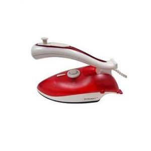 Folding Portable Dry Iron -  700W - Red
