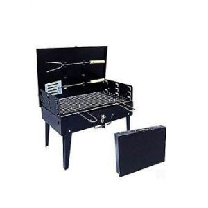 Portable Barbecue Machine BBQ  - Black