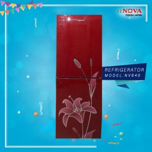 Nova Refrigerator RedBlack (NV 640)