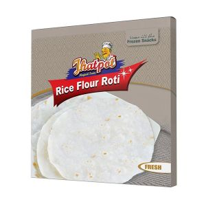 Jhatpot Rice Flour Roti 10pcs Packet 400gm 5500000457