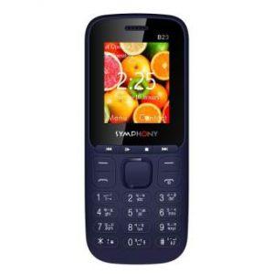 Symphony B23 - Dark Blue - Feature Phone