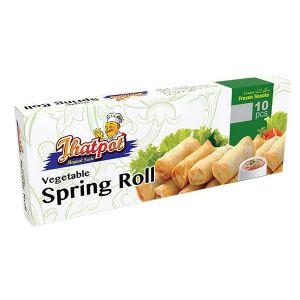 Jhatpot Vegetable Spring Roll 10 pcs Packet 5500000346