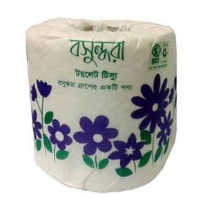 Bashundhara Toilet Tissue -  Regular White