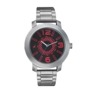 3120SM04 Stainless Steel Analog Watch for Men - Silver-FTB0013