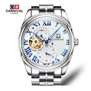Carnival Tourbillon Automatic Watch Men 8718G
