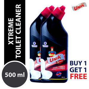 Unik Xtreme Toilet Cleaner 500ml  (Buy 1 Get 1)