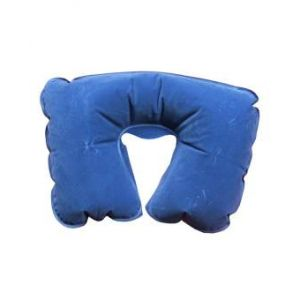 Tourister Inflatable Travel Pillow  - Blue