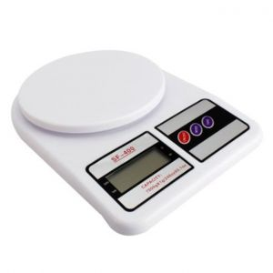Master Kitchen Digital Kitchen Scale 5 KG - White