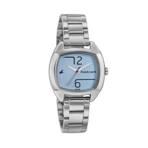 Silver Stainless Steel Analog Watch for Men-FTB0062