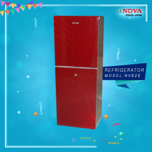 NV 625 Refrigerator Red Color Without Drawer