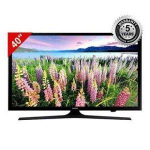 "Samsung - 40"" UA-J5008 LED TV - Black"