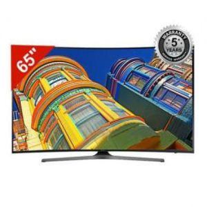 "Samsung - 4K UHD Smart TV 65"" KU6300 - Black"