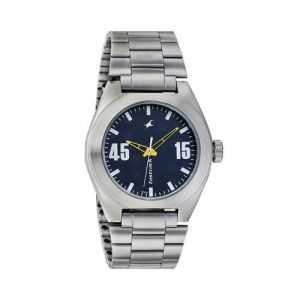 NG6078SM01 Stainless Steel Analogue Watch For Men - Silver-FTB0066