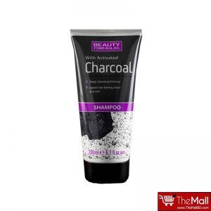 Beauty formulas charcoal shampoo - 200 ml