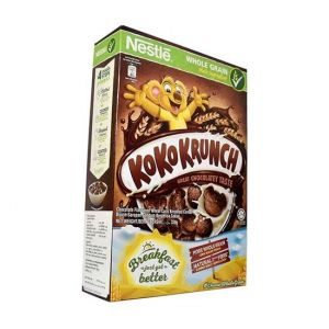 Nestlé KOKO KRUNCH Breakfast Chocolate Cereal Box - 330 gm