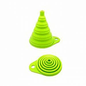 Master Kitchen Portable Retractable Funnel - Green