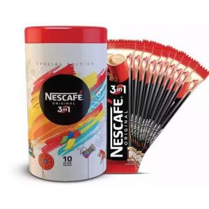 Nestlé NESCAFE 3 in 1 Exclusive Coffee Mix (Free Tin Container) - 15 gm