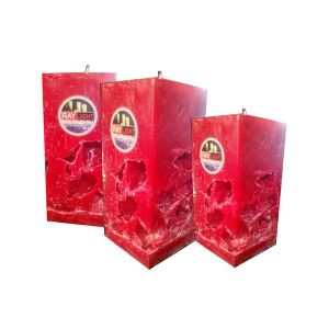 Square Pillar Hollow Candle