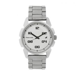 3120SM04 - Stainless Steel Analog Watch For Men - Silver-FTB0007