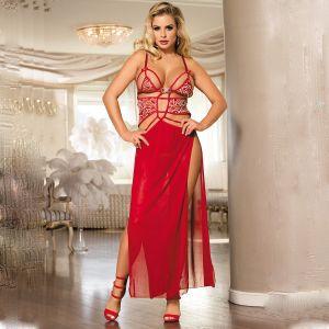 2pcs Belle Decolette Love Sexy Gown