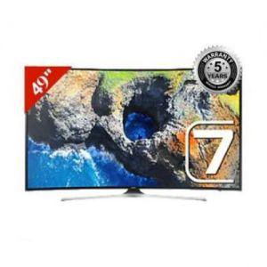 "Samsung - MU7350 - UHD 4K Curved Smart TV - 49"""" - Black"