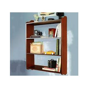 Malaysian Processed Wood Wall Hanging Shelf - Brown