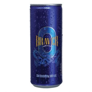 Braver Malt Drink Can 250Ml 3000000259