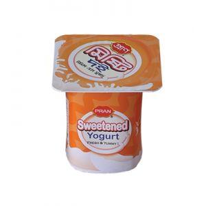PRAN Sweetened Yogurt 100 gm