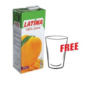 PRAN Latina Mango Juice 1000ml 3000000225
