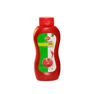 Pran Hot Tomato Sauce - PE - 550 gm (Plastic Jar)