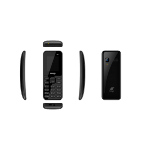 Mango MB1 - Feature Phone - Dual SIM - Curved Display - Battery 1000mAh - Black
