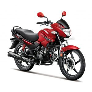 Hero Glamour 125 CC Motorcycle - Candy Blazing Red