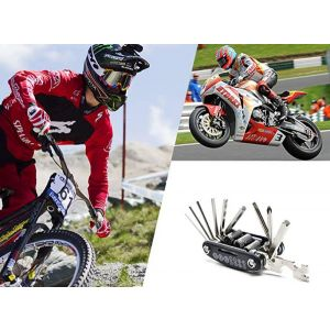 16 in 1 Multi-Functional Bike and Bicycle Repair Tools