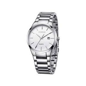 Silver Stainless Steel Analog Watch for Men-FTB0030