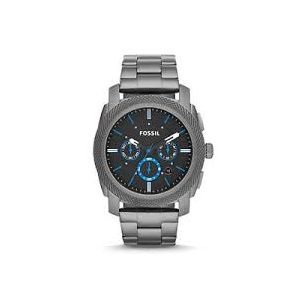Gray Stainless Steel Analog Watch for Men