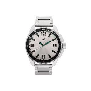3084SM01 Stainless Steel Analog Watch For Men - Silver-FTB0040