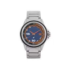 3142SM02C - Metal Wrist Watch For Men - Silver-FTB0082
