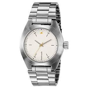 3110SM01 - Stainless Steel Analog Watch For Men - Silver
