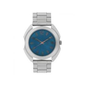 NG3117SM02C - Stainless Steel Wrist Watch For Men - Silver