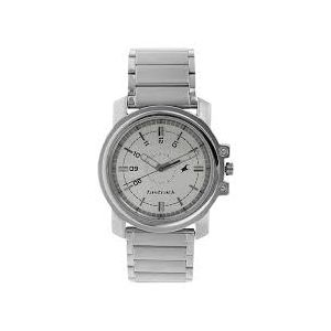 NG3039SM01C - Stainless Steel Analog Watch for Men - Silver