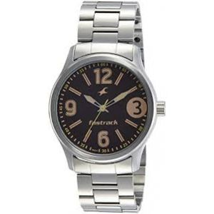 3001SM07 - Stainless Steel Analog Watch For Men - Silver