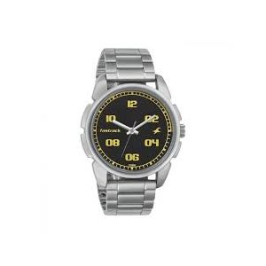 NG3124SM02C - Stainless Steel Wrist Watch For Men - Silver