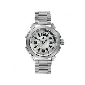 3130SM01 - Stainless Steel Analog Watch For Men - Silver