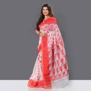 Exclusive Baishakhi Jamdani Silk Saree For Women